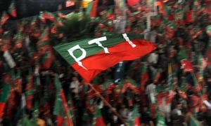 PTI workers' protest over award of tickets continues in Banigala
