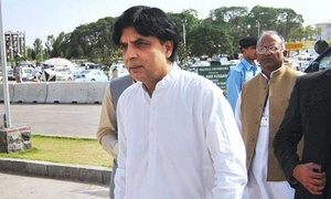 Analysis: Has Nisar put his political career at stake?