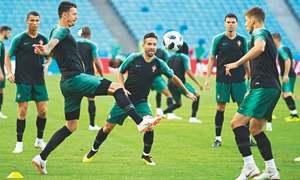 Ronaldo's Portugal face trouble-hit Spain in Sochi