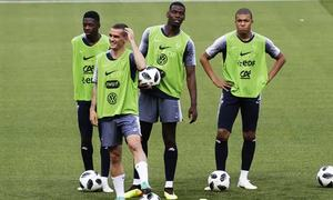 Fearsome young trio expected to start for France