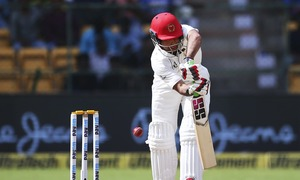 Afghanistan thrashed by India inside two days on Test debut