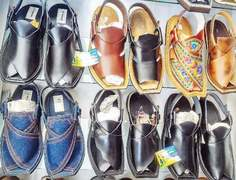 Traditional Swati footwear becoming popular among people