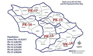 New delimitation plan for Lower Dir finalised