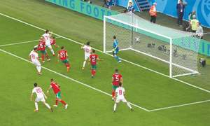 Morocco own goal hands late victory to Iran