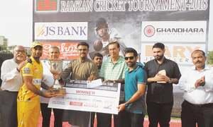 Qasmi Gymkhana denied again as Agha Steel win AKG title