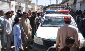 Paramilitary forces' vehicle attacked on Quetta's Sariab Road, 3 martyred