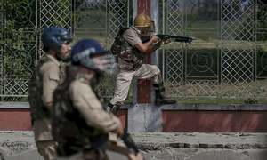1 dead, multiple wounded as Indian troops fire at anti-India protesters in held Kashmir