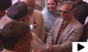 چیف جسٹس کی جانب سے ایک لاکھ روپے کا عطیہ