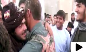 افغان طالبان اور فورسز نے شہریوں کے ساتھ مل کر عید منائی