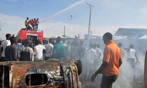 Nigeria suicide blasts kill at least 31