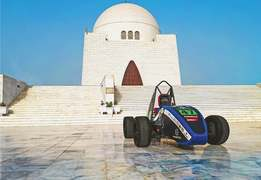 NUST students dream big for electric race car competition