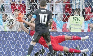 Messi proves uninspiring as Iceland hold Argentina