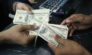 Rupee tumble continues as banks reopen