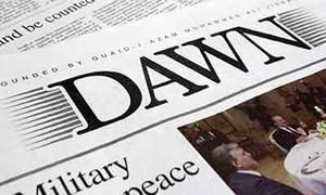 ڈان اخبار کی ترسیل میں رکاوٹیں پیدا کرنے کا سلسلہ جاری