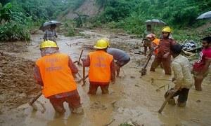 بھارت، بنگلہ دیش میں بارشیں اور سیلاب، درجنوں افراد ہلاک