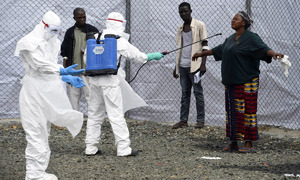Ebola outbreak in Congo 'largely contained'