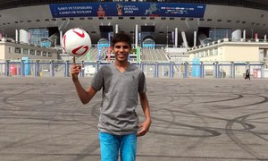 Sialkot teenager to conduct coin toss at Brazil-Costa Rica showdown at FIFA