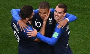 فرانس اور کروشیا کی لگاتار دوسری فتح، ارجنٹائن کو 3-0 سے شکست