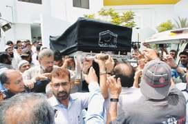 Mushtaq Ahmed Yousufi laid to rest