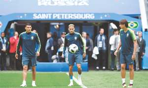 Brazil sweat on Neymar fitness as pressure mounts