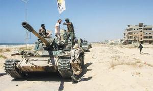 Haftar loyalists strike back, retake oil ports