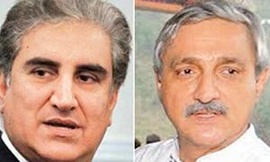 Qureshi, Tareen lock horns on ticket distribution issue