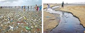 Experts warn picnickers against visiting polluted Clifton beach