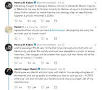 Aamir Liaquat isn't happy (to put it mildly) with Hamza Ali Abbasi's tweet