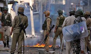 'بھارت! مقبوضہ کشمیر میں انسانی حقوق کی خلاف ورزیاں بند کرو!'