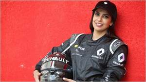 This Saudi woman drove an F1 car to celebrate end of ban
