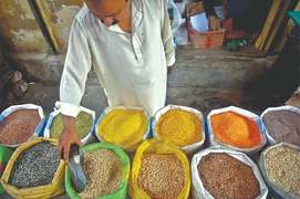 Grocery prices go up because of rupee devaluation, high transport charges
