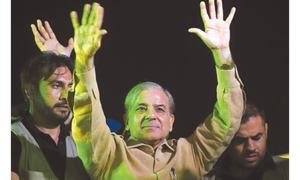 Shahbaz launches PML-N election campaign from Karachi