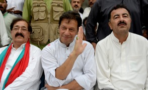 In Mianwali, they chant 'prime minister Imran Khan'