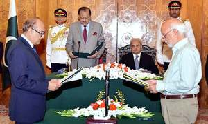 2 more caretaker ministers sworn into cabinet
