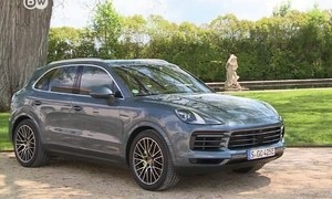 Taking the Porsche Cayenne E-Hybrid for a test drive