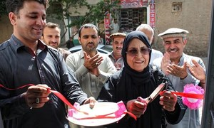 Trailblazing Ali Begum sets up Kurram District's first-ever election office for women