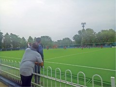SPORTS Diary: AstroTurf at hockey stadium, new experience for town players