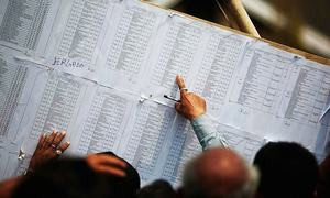 ECP fails to publish final list of candidates