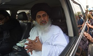 TLP chief launches poll drive from Karachi
