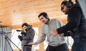 Ali Hamza and Zohaib Kazi go out of the studio for this year's Coke Studio