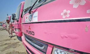 پشاور: خواتین کیلئے مخصوص بس سروس انتظامی لاپروائی کی نذر ہوگئی