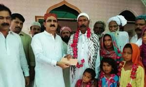 ماتلی کے ایس ایچ او کی ہندو خاندان کو مسلمان ہونے میں مدد