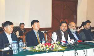 Plea for removal of obstacles in CPEC way