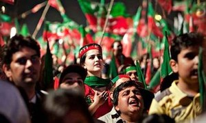 PTI splits in Mansehra over woman's nomination
