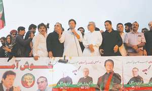 Imran announces PTI's housing policy during his Karachi tour