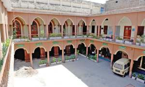 Pindi's oldest school struggling to maintain its identity