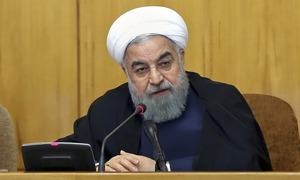 Iran calls for EU help as shipping giant pulls out for fear of US sanctions