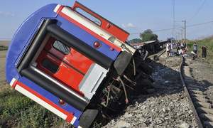 ترکی: ریل حادثے میں10 افراد جاں بحق، 73 زخمی