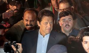 Imran Khan among six politicians under threat from terrorists: Nacta