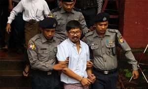 روہنگیا بحران کی رپورٹنگ پر 2 صحافیوں کو مقدمات کا سامنا